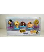 Figure Poop Smiler Gene Hi-5 Jailbreak: The Emoji Movie Collectible Set Of 5 New - $38.72