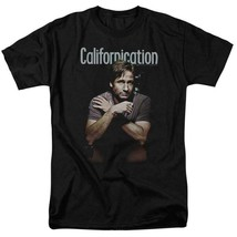Californication comedy-drama TV series David Duchovny black graphic tee SHO343 image 1