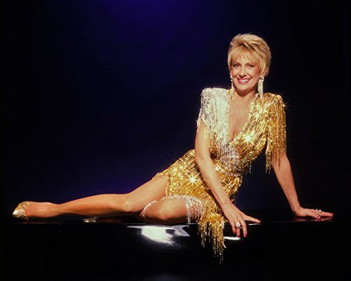 Tammy Wynette Studio Pose Sequin Gown 16x20 Canvas Giclee