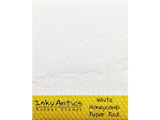 Inky Antics White Honeycomb Paper Pad #HCP-WHT