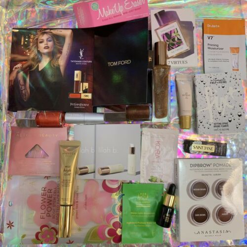 LUXURY SEPHORA High End Mixed Makeup Skincare Deluxe Samples Beauty Lot 21pcs