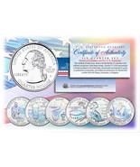 2009 DC & US TERRITORIES Quarters HOLOGRAM ** 6-Coin Set ** STATEHOOD w/... - ₹958.32 INR