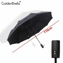 GoldenBrella® Double Layer Umbrella For Men Quality Large Wind Resistance - $44.54