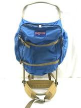 VTG Jansport K2 External Frame Backpack Blue Camping USA Back Pack Hiking - $79.97