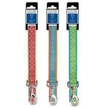 Polka Dot Dog Leads Bright Colorful Fashion Pattern Leash Choose Color & Length - $21.05
