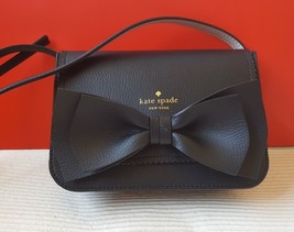 NWT Authentic Kate Spade Black Hanni Vanderbilt Place Crossbody Bag - $116.88