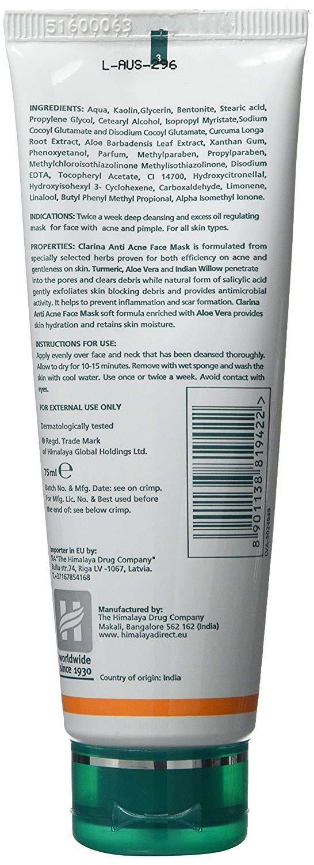 Clarina Natural Anti-Acne Face Mask for Deep and 11 similar