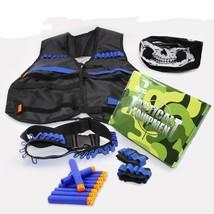 Skull Mask Tactical Equipment Set Of Ekind Kit For Nerf N-strike Elite G... - $31.99