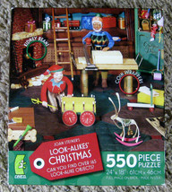Ceaco Elves Workshop Can You Find Jigsaw Puzzle Joan Steiner 550 Pieces Complete - $10.00