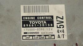 Toyota 4Runner 4x4 A/T ECM ECU Engine Control Module 89661-3D150 5VZ image 3
