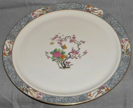 """Lenox MING PATTERN 14 1/2"""" Chop Plate or Platter BLACK MARK Made in USA - $89.09"""