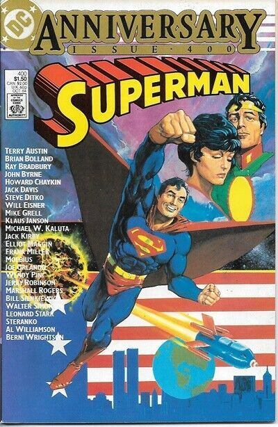Primary image for Superman Comic Book #400 DC Comics 1984 VERY FINE/NEAR MINT NEW UNREAD