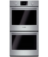 "Bosch HBN5651UC 500 Series 27"" Double Electric Wall Oven in Stainless Steel - $1,831.45"