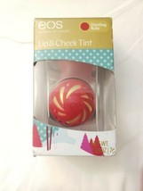 EOS Lip & Cheek Tint Holiday Limited Edition Dazzling Ruby Shea Butter Oils - $9.60