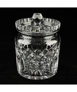 Waterford Crystal Lismore Biscuit Barrel and Lid in Original Box - $207.90
