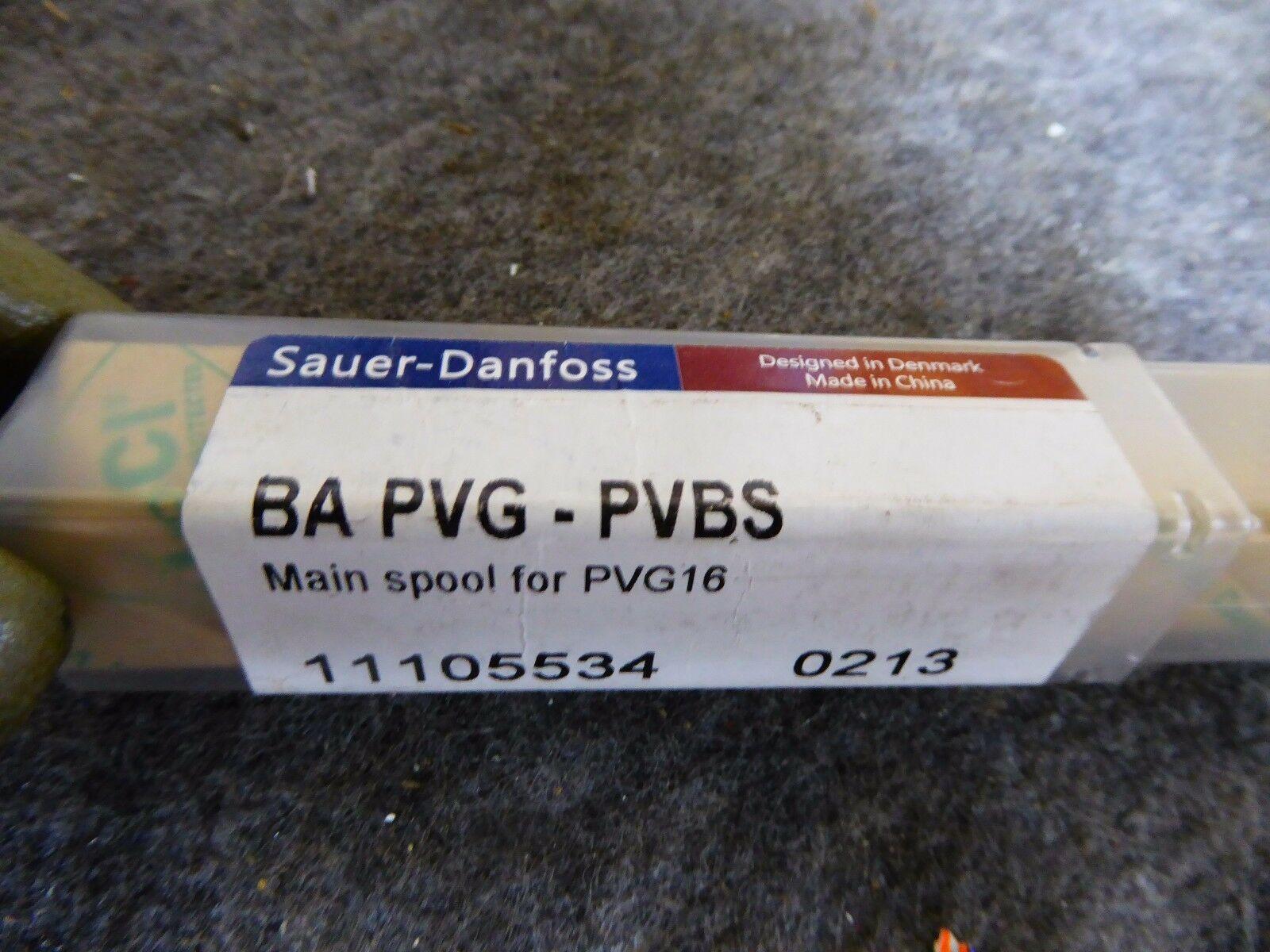 Sauer Danfoss BA PVG-PVBS Main Spool for PVG16 Proportional Valve 11105534 0213