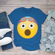 Swimming Funny Tee Surprised Swimmer With Goggles Swim Unisex - $15.99+