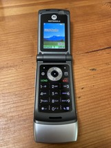 Motorola W376g TracFone Flip Cell Phone for Pre-Paid Service Silver Test... - $39.99