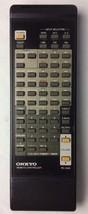 Onkyo RC-332S ORIGINAL Remote Control CR-185 CR-185X chr-185x/185ii Black - $37.02