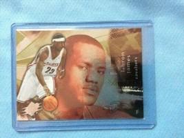 LeBron James 2004-05 Upper Deck SPX NBA Trading Card Cleveland Cavaliers - $58.40