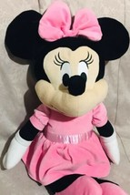 "Large Disney Baby Minnie Mouse 24"" Soft Plush Toy Stuffed - $49.49"