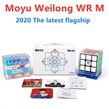 Moyu WeiLong WR M 3x3x3 Magic Cube Twisty Puzzle for Intelligence Toys Black - $43.50