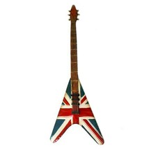 America Vintage Iron Guitar Wall Hanging Decoration   C - $64.93