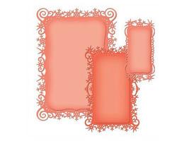Spellbinders Holiday Snowflakes View Die Set #S6-015 image 2