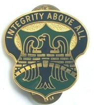 Genuine U.S Army Crest Pin 22ND Military Police Battalion Integrity Above All - $11.95