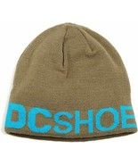 DC Shoe Co Men's Beanie Bromont Olive green One Size New - £1.61 GBP