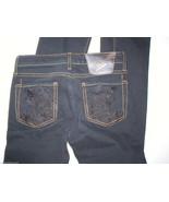 New Authentic Ed Hardy Womens Jeans Koi Fish Pockets 24 26 X 32 Skinny N... - $23.60