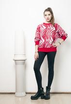 Weird knit jumper - 80s vintage sweater - $34.21