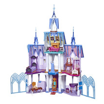 Disney frozen 2 ultimate arendelle castle playset  lights  moving balcony thumb200