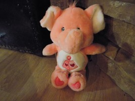 "13"" Care Bear Cousin Lotsa Heart Elephant Plush Pink 2004 Stuffed Animal... - $22.00"