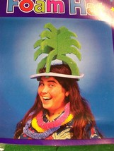 11 Adult Foam Palm Tree Hawaiian Luau Party Hats Parrothead Buffett Fun ... - $2.80