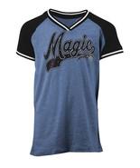 NBA Orlando Magic Girl's Tri Blend V Neck Jersey, Blue, Youth Small (6/6x) - $28.50