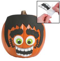 """Green Monster Pumpkin Decorating Craft Kit (12 Pack)  9"""" x 6"""" - $197,40 MXN"""