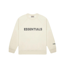 [FOG Essentials] 3D Silicon Applique Crewneck - Buttercream (2020) - $197.98+