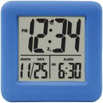 Equity By La Crosse Soft Cube Lcd Alarm Clock (blue) - €14,06 EUR