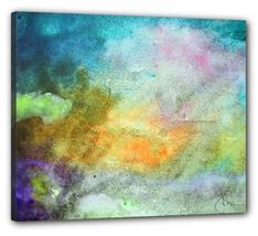 """Stretched Canvas Print 24"""" x 20"""" by Voyageart - Motivation - $70.00"""