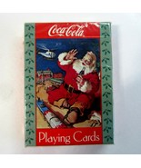 Sealed Deck of Coca Cola Santa with Train Coke Advertising Playing Cards... - $8.50
