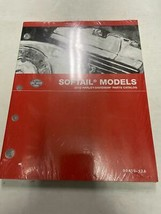2012 Harley Davidson Softail Soft Tail Models Parts Catalog Manual Book New 2012 - $118.75