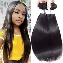 PeiYu Brazilian Virgin Hair Straight 3 Bundles Deal 7A Grade Unprocessed... - $54.65