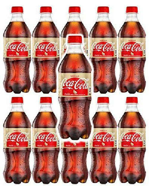 Coca-Cola Vanilla 20 Oz Soda Bottles (Pack Of 10, Total Of 200 Fl Oz) - $41.57