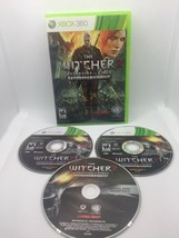 The Witcher 2 Enhanced Edition (Microsoft Xbox 360, 2012) Tested and Wor... - $22.11