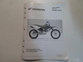 2004 Honda CRF80F Set Up Instructions Manual Loose Leaf Factory 04 Oem Deal - $14.25
