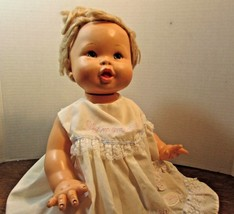 "1973 Ideal Toy Rub-A-Dub dolly doll 16'' vintage "" IF MOMMY SAYS NO ASK ... - $26.73"