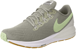 Nike Women's Air Structure 22 Running Shoes Spruce Fog/Barely Volt-spruce Aura - $112.05