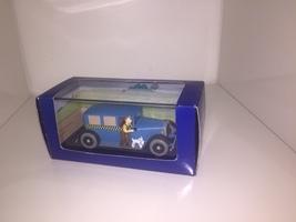Taxi Checker model car - Tintin in America TIntin cars Atlas 1/43 image 2
