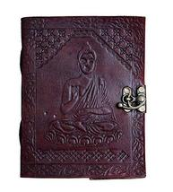TUZECH Leather Writing Journal Notebook Classic Spiral Bound Notebook Re... - $14.70